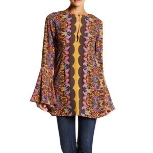 Free People Ossie Bell Sleeve Tunic-h9
